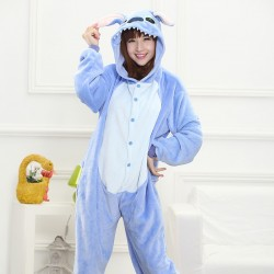 Pyjama adulte Stitch Bleu